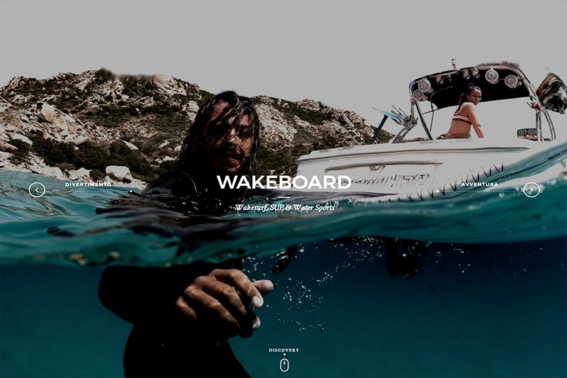 FH Academy Wakeboard Website